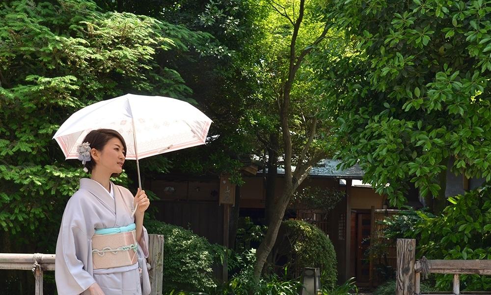 プレミアムホワイト日傘